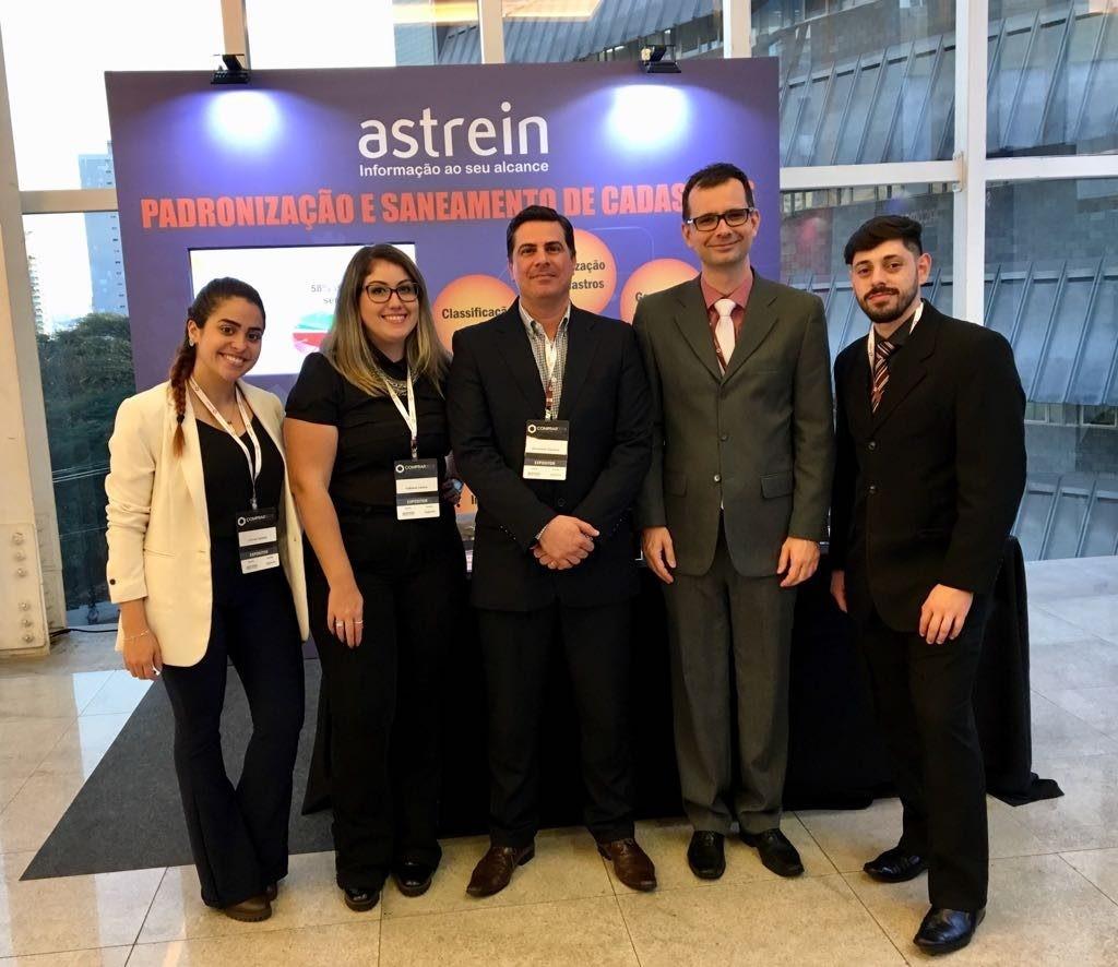 Astrein expôs no Fórum Nacional de Compras 2018